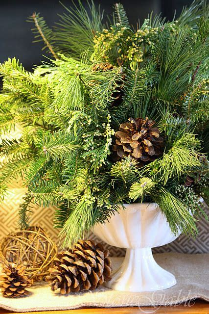 centerpiece tutorial  fresh greens christmas wreaths
