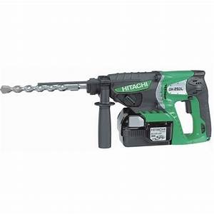 Perforateur Burineur Sans Fil : hitachi perforateur sds plus 25 2v 3ah dh25dl ~ Premium-room.com Idées de Décoration