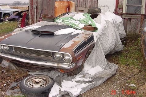 Barn Find Muscle Classic Cars, 1970 Challenger Ta