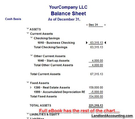 rental houses property management in quickbooks