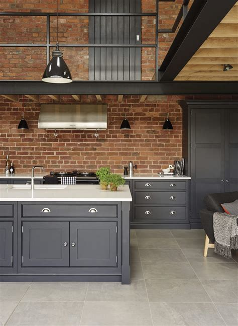 industrial style kitchen tom howley