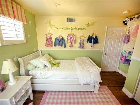 A Multifunctional Little Girl's Room In A Small Space Hgtv