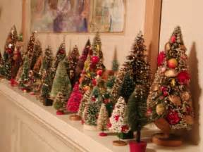 deck the holiday s vintage christmas decorations and trees