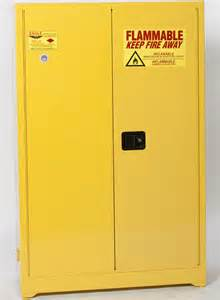 flammable storage cabinets regulations