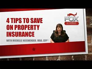4 Tips to Save on Property Insurance | Fiscal Fitness News