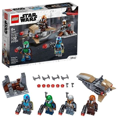 All New Mandalorian LEGO Set out now but missing Baby Yoda