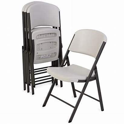 Folding Chairs Chair Lifetime Almond Table Steel