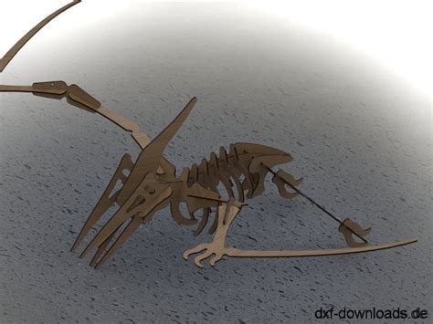 flugsaurier  modell pterosaur  model das