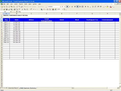 trip tracker certificate template excel spreadsheet template expenses microsoft spreadsheet