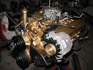 Painted 350 Engine