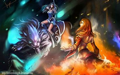 Dota Mirana Android 1080p Wallpapers Gamers Title