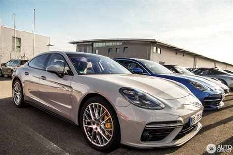 porsche panamera 2017 porsche panamera turbo panamera 4s duo spotted in