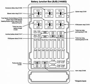 Ford E 450 Fuse Diagram