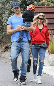 Fergie dotes over son Axl on sweet play date with Josh ...