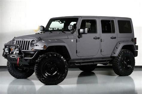 flat grey jeep wrangler google search omeday