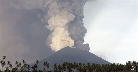 Bali News Bali Volcano Indonesia Is No Stranger To Eruptions