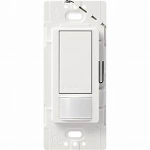 Lutron Maestro Motion Sensor Switch  No Neutral Required