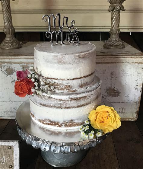 Rustic Wedding Cake Kay Cake Designs