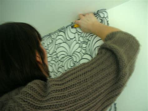 poser du papier peint coller du papier peint