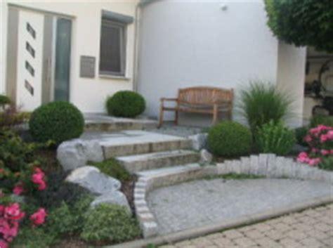hauseingang gestalten granit gestaltungsideen natursteine werner natursteine