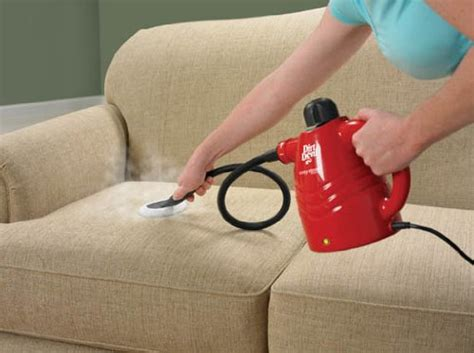 How To Clean Upholstery With A Steam Cleaner by Portable Steam Cleaner Handheld Carpet Furniture Stove