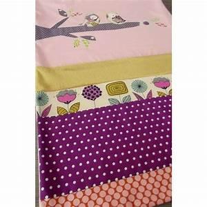 Petite Couverture Bébé : couverture b b fleurs oiseaux sur branche pois fait ~ Teatrodelosmanantiales.com Idées de Décoration