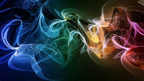 Cool Abstract Colorful Smoke - Amazing Live Wallpaper ...