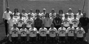 """2000-2001 Women's Soccer Team"" by Cedarville University"