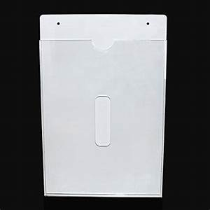 multi use acrylic a4 sign holder wall mount paper file With plexiglass document holder wall mount