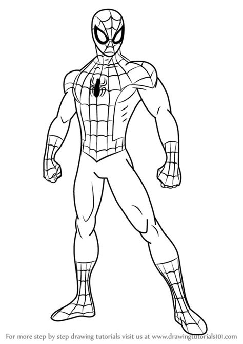 Learn How to Draw Ultimate Spider-Man (Ultimate Spider-Man