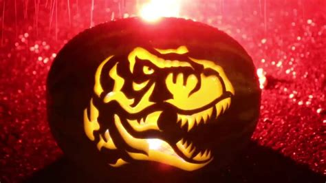 tyrannosaurus rex watermelon carving youtube