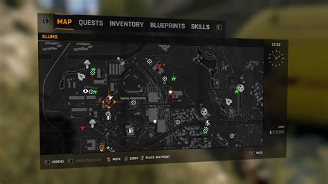 quarantine zone dying light locations zones dlc underground parking tips relief packages disaster site infected reward hard survivor