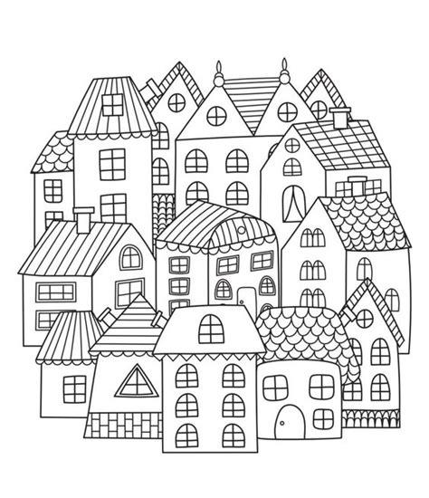 Moderne Häuser Zum Ausmalen by Ausmalbilder Erwachsene Zum Ausdrucken Malvorlagentv