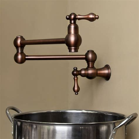 Oil Rubbed Bronze Faucets Kitchen by Kitchen Pot Fillers Find The Right Pot Filler For Your