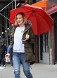 OLIVIA WILDE at Life Itself Set in New York 03/24/2017 ...