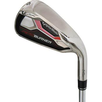 taylormade aeroburner hl iron set 4 pw aw golf club at globalgolf