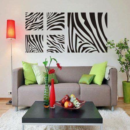 amazoncom zebra print bedroom decor removable wall art