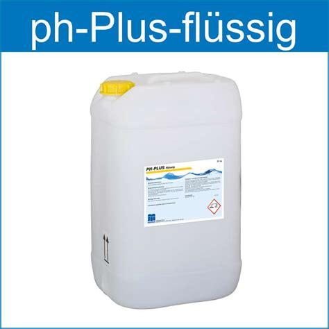 pHPlus flüssig ist zum Anheben des pHWert im