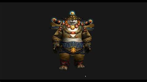 wow mists  pandaria beta level  monk tier  armor set paiid youtube