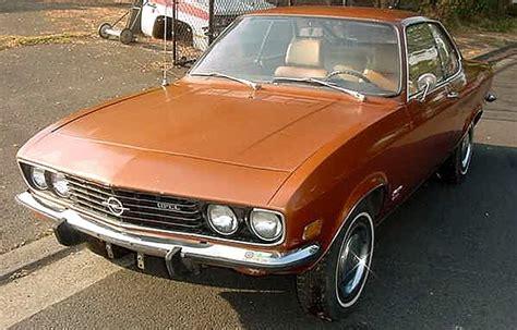 1973 Opel Manta by Just A Car 1973 Opel Manta
