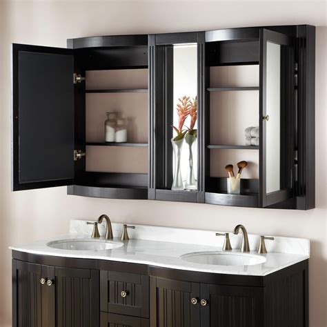 palmetto espresso double vanity bathroom