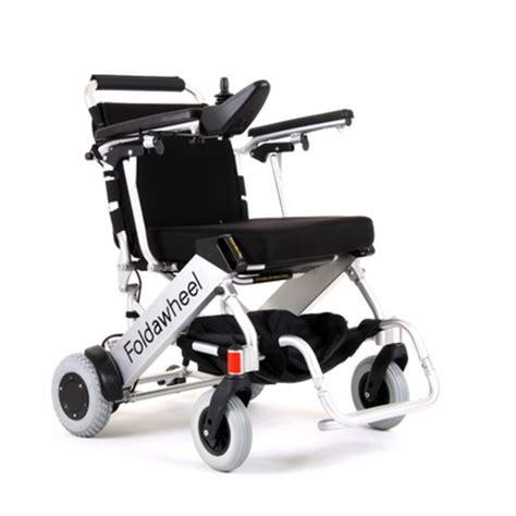 Foldawheel Electric Wheelchair, Powered Wheelchairs