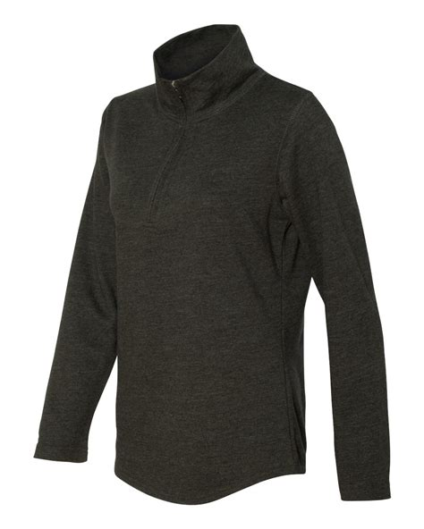 38688 Everblue Coupon Code by Lat Terry Quarter Zip Pullover 3764 14