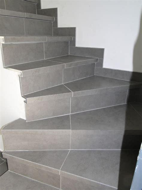 nez de marche escalier carrelage 1 escalier r233alis233 avec des nez de marche en carrelage