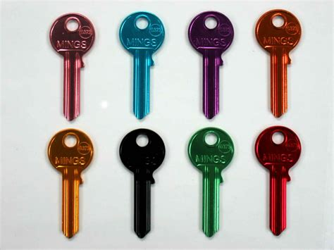 Ultra Light Uni3 Colors Door Key Blank