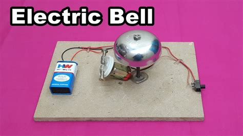 How Make Simple Electric Bell Home Easy