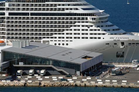 port de marseille croisiere port de marseille la tunisie et les croisi 232 res tirent les r 233 sultats vers le haut