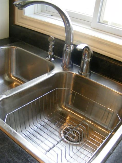 kitchen sink cleaning tips how to clean and shine your sink naturally cleaning 5677