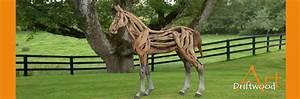 Holzskulpturen Für Den Garten : driftwood art exklusive pferde aus holz kunst f r haus garten aktuelles driftwood art ~ Yasmunasinghe.com Haus und Dekorationen