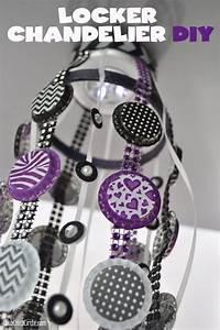 Pimp Your Locker : homemade locker chandelier diy tween diy fun locker crafts diy locker locker decorations ~ Eleganceandgraceweddings.com Haus und Dekorationen